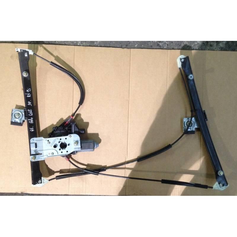 Mécanisme lève-vitre conducteur + moteur pour vw polo 6n 3 ...