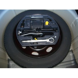STEEL RIM FOR SPACE-SAVING EMERGENCY WHEEL / TEMPORARY SPARE WHEEL