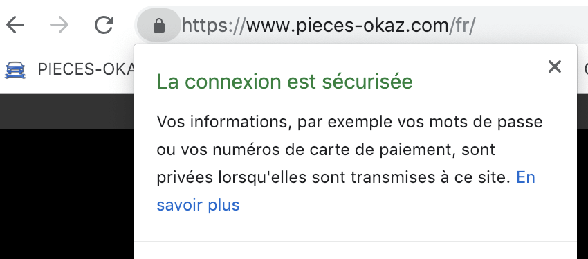 Pieces Okaz en Https